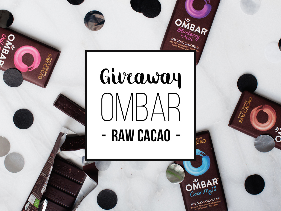 Ombar de Feel Good Chocolade + Giveaway