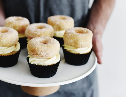 Donut Vanille Cupcakes