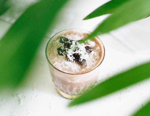 Iced Chocolatemilk met Kokosroom