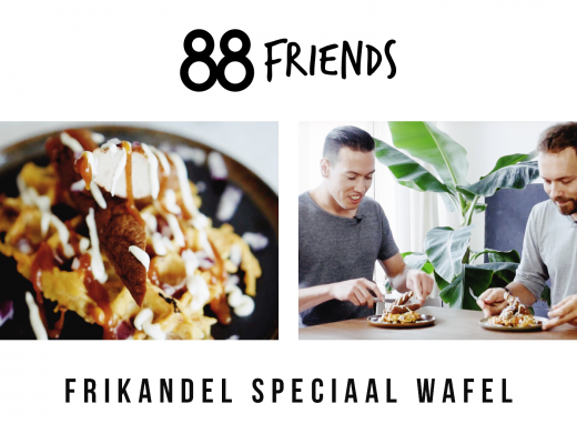 88 Friends Frikandel Wafel